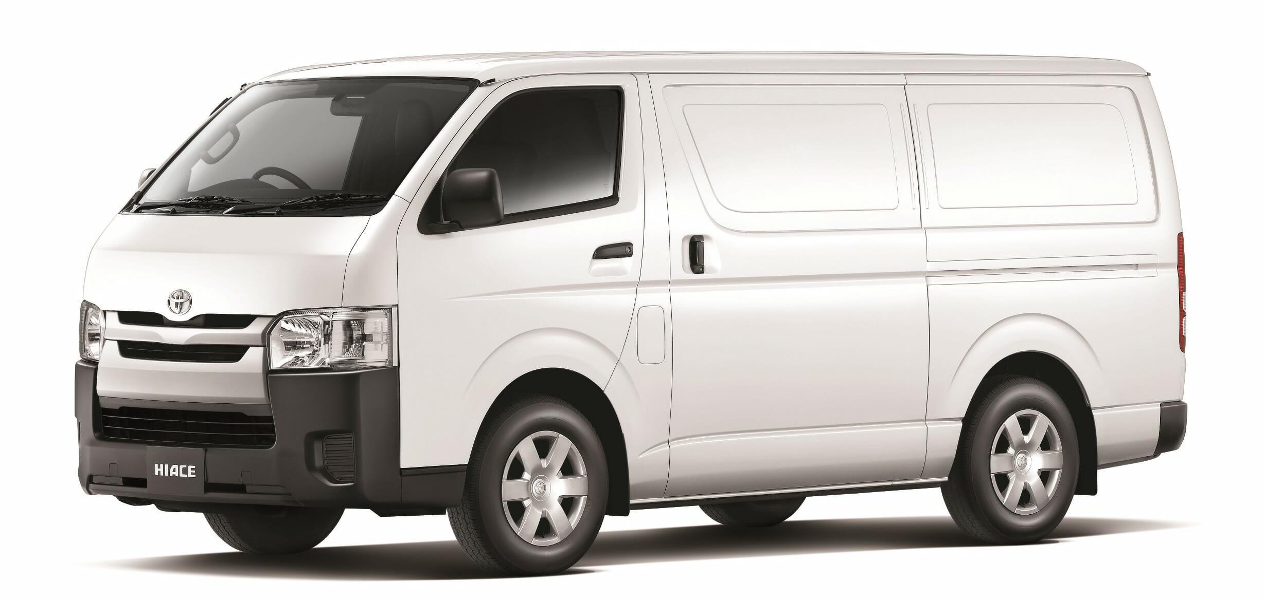 New Toyota Hiace Freezer Van For Sale