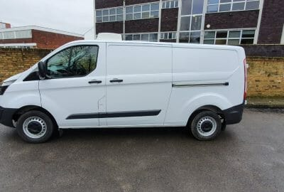 Ford Transit Custom L2 H1 Fridge Van 400x270 - 2018 Ford Transit Custom L2 H1 Euro 6 105ps Fridge Van