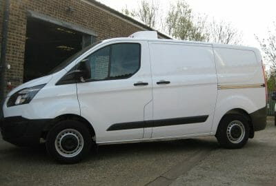 2019 Ford Transit Custom 300 L1 H1 Euro 6 105ps Fridge Van
