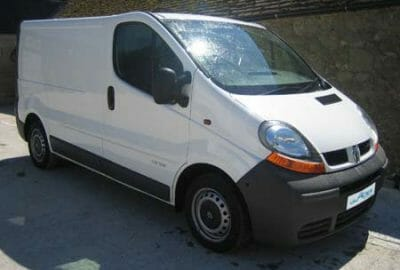 New Renault Trafic Refrigerated Van