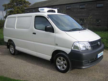 New Toyota Hiace D-4D Refrigerated Van