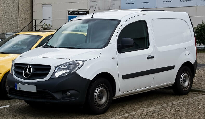 Mercedes:  Refrigerated Vans that Handle Like Sports Vehicles