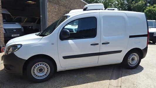 2017 Mercedes Citan 109 CDi 1.5 LWB Euro 6 Freezer Van For Sale