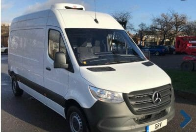 2018 Mercedes Sprinter 314CDI MWB New Shape Fridge Van For Sale