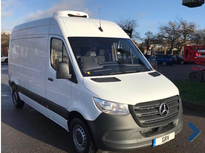 Two 2019 Mercedes Sprinter 314CDI L2 H2 Freezer Van For Sale