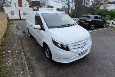 Mercedes Vito 111 CDi LWB Fridge Van 2 400x270 - Refrigerated Vehicles Chiltern