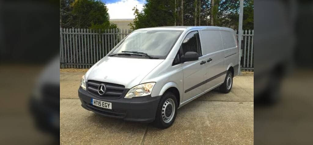 2016 Mercedes Vito 113CDI LWB Refridgerated Van Review