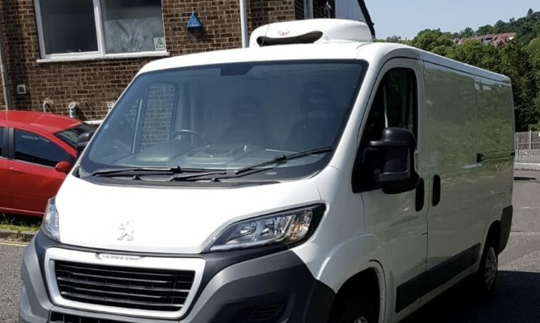 2015 Peugeot Boxer 330 L1 H1 HDi Heavy Payload Freezer Van For Sale