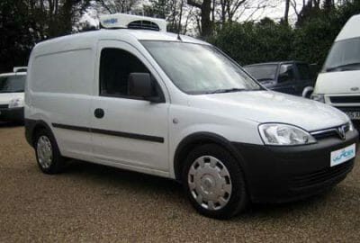 New Vauxhall Combo Refrigerated Van For Sale