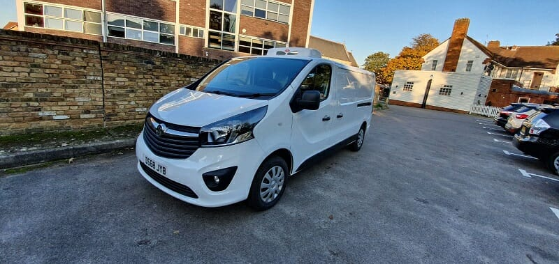 2018 Vauxhall Vivaro L2 H1 2900 Sportive Freezer Van For Sale