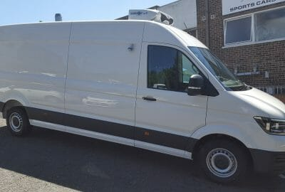 2018 Volkswagen Crafter CR35 LWB 140ps Fridge Van For Sale