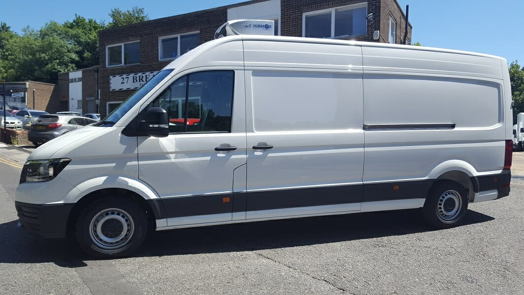 2018 Volkswagen Crafter CR35 LWB Euro 6 Fridge Van For Sale
