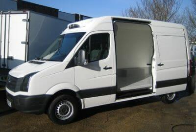 New Volkswagen Crafter Freezer Van
