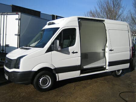 New Volkswagen Crafter Freezer Van For Sale
