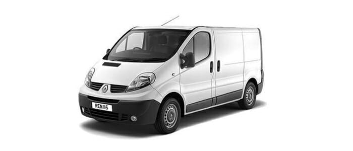 Renault Trafic Freezer Van Specifications