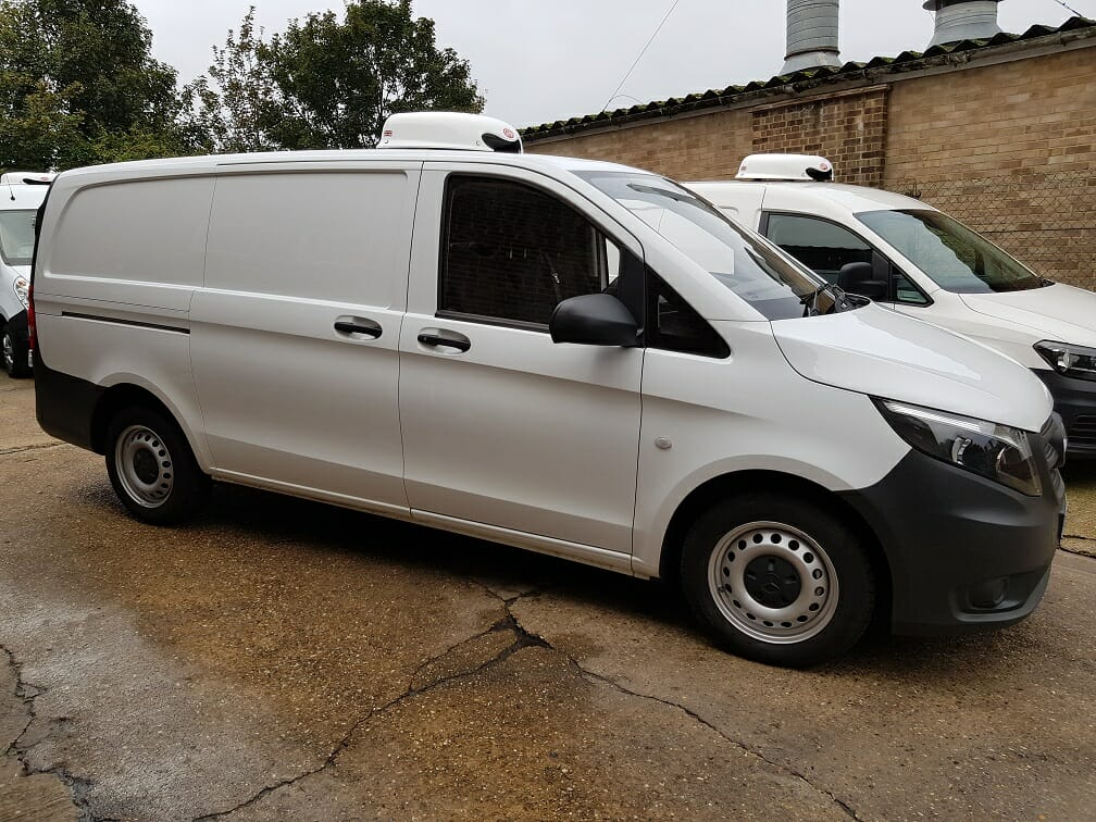 2017 Mercedes Vito 111 CDi LWB Freezer Van For Sale
