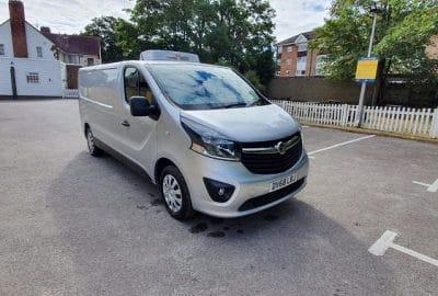 2018 Vauxhall Vivaro L2 H1 2900 Sportive Fridge Van For Sale