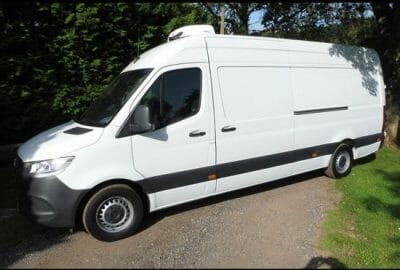 2018 Mercedes Sprinter 314CDI L3 H2 LWB Fridge Van For Sale