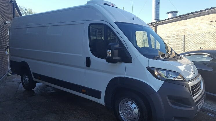 2019 Peugeot Boxer L3 H2 140ps Professional Fridge Van For Sale