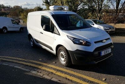 2018 Ford Transit Connect L1 Fridge Van For Sale