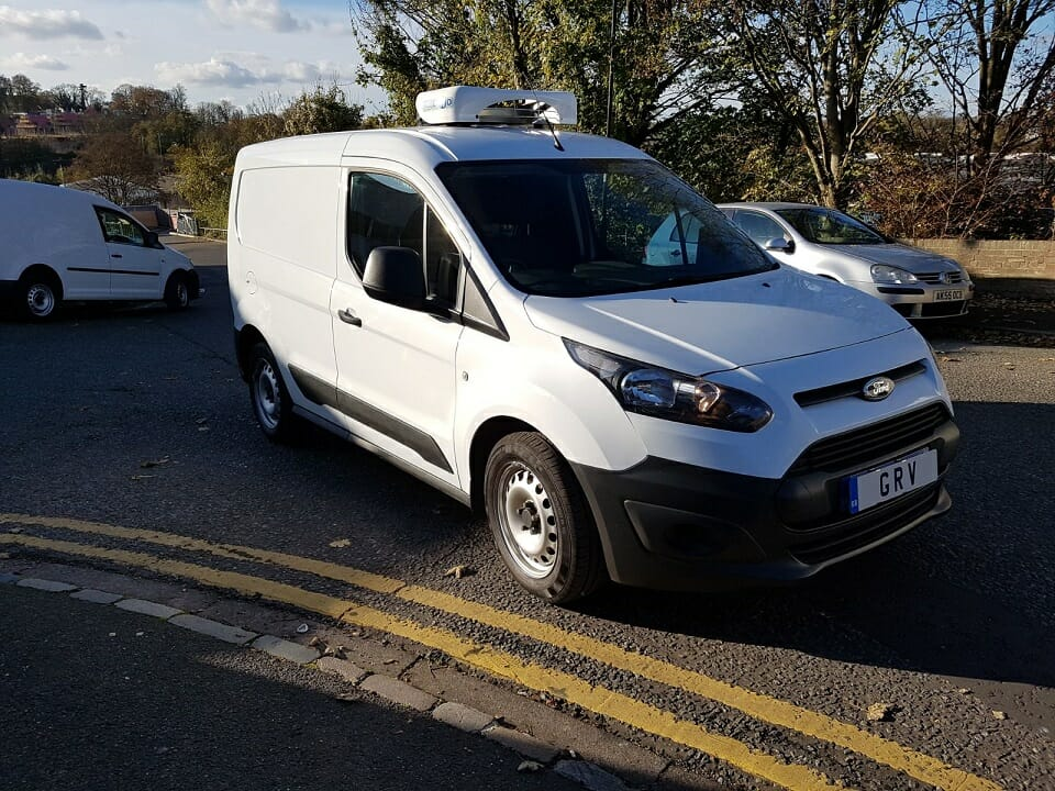 2018 Ford Transit Connect L1 Freezer Van THREE MATCHING IN STOCK