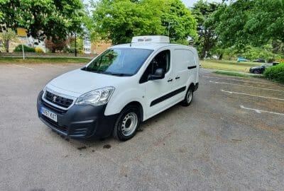 2017 Peugeot Partner 750 L2 H1 LWB Fridge Van