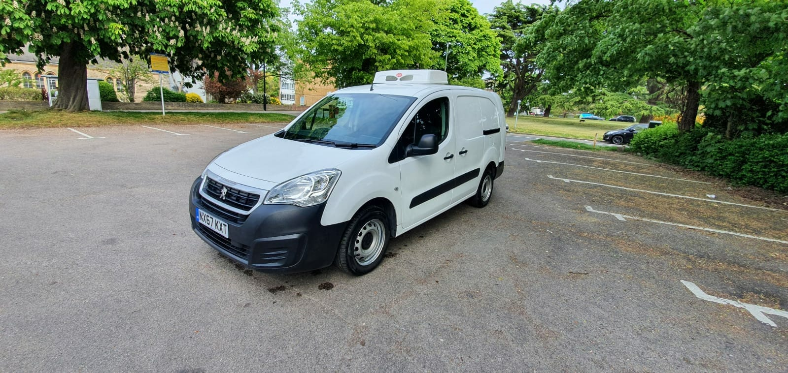 2017 Peugeot Partner 750 L2 H1 LWB Fridge Van