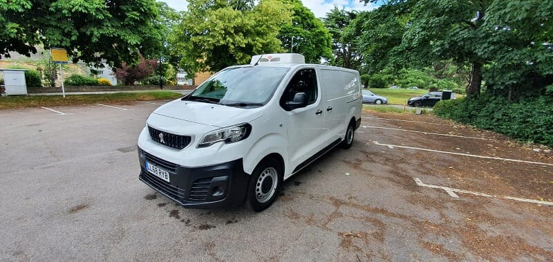 2018 Peugeot Expert Long 2.0 HDi Professional Fridge Van For Sale