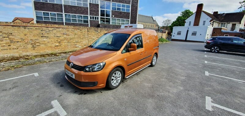 2014 Volkswagen Caddy C20 Startline Special Edition Freezer Van For Sale