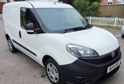 2018 Fiat Doblo Cargo L1 H1 1600 Fridge Van For Sale