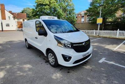 2018 Vauxhall Vivaro L1 H1 120 Sportive Fridge Van For Sale