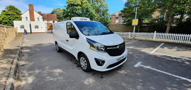 2018 Vauxhall Vivaro L1 H1 120 Sportive Fridge Van For Sale
